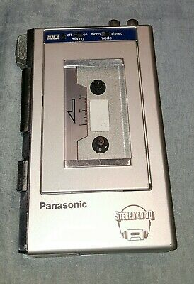 Panasonic Stereo To Go RQ-J6 Cassette Tape Player / Mixing / Recorder