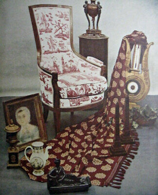 Vintage French Provincial Art furniture book Hollywood Regency inspo? many pics