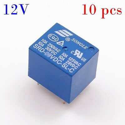 5 5 PIN SOCKET 12V DC 30//40A WATERPROOF SPDT A//C COMPRESSOR QTY5 RELAY