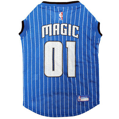 ORLANDO MAGIC NBA Licensed Pets First Dog Pet Mesh Blue Jersey Sizes XS-L