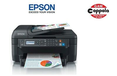 Stampante Multifunzione Inkjet A Colori Epson Workforce Wf-2750Dwf Wireless Wifi