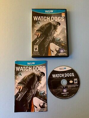 Watch Dogs (Nintendo Wii U, 2014) US/Canada Complete