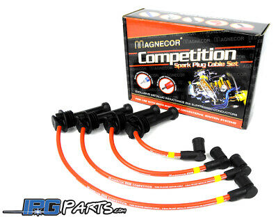 93-97 MAZDA RX7 FD3S 10MM RACING SPARK PLUG WIRES RED