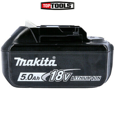Genuine Makita BL1850 18v 5.0Ah LXT Li-ion Makstar Battery Pack