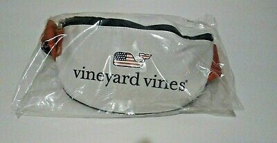 Vineyard Vines for Target Flag Whale Fanny Pack Red/White/Blue NWT