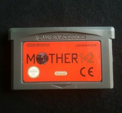 Mother 1+2 GBA Gameboy advance. English language. UK seller 1st class postage