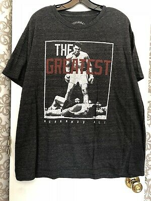 M177 Muhammad Ali Over Liston Boxing The Greatest Officially Licensed T-Shirt XL