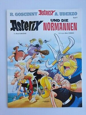 Asterix & Obelix Comic Band 9 ASTERIX UND DIE NORMANNEN  ungelesen,1A TOP Zust.