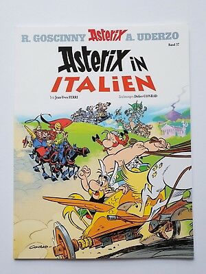 Asterix & Obelix Comic  Band 37   Asterix in Italien   ungelesen, 1A TOP Zustand