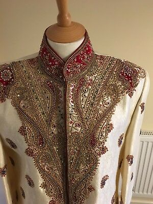 Indian Men's Wedding Sherwani/Shirvani