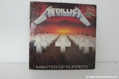 METALLICA MASTER OF PUPPETS 2x LP UK DIRECT METAL MASTERING LIMITED EDITION 1986