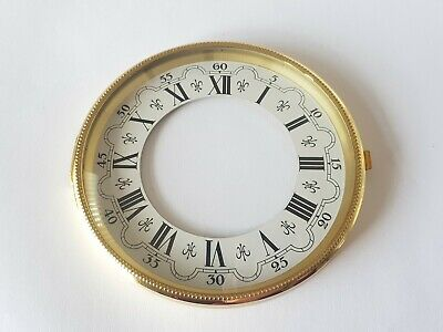 Brass Clock Bezel and Glass 113mm Roman Dial German Made Quality