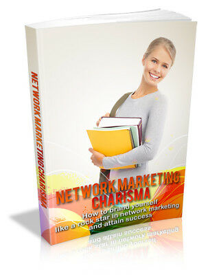 Network Marketing Charisma PDF eBook with Full resale rights!