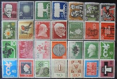 GERMANY (West) 1957-59 Excellent Collection of 28 MNH