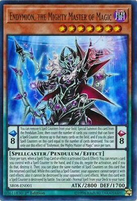 3 x ( ENDYMION, THE MIGHTY MASTER OF MAGIC ) - Ultra - SR08-EN001 - 1st NM - YGO