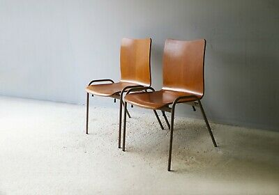 Danish 1960's mid century stacking chairs - 50 available