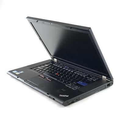 Lenovo ThinkPad T520 Laptop i5-2520M 8GB or 16GB RAM HDD/SSD DVDRW Win10H 15.6""