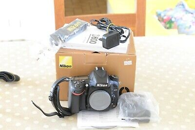 Nikon D600 24.3MP Digital SLR Camera - Body only, Boxed . Recent new shutter