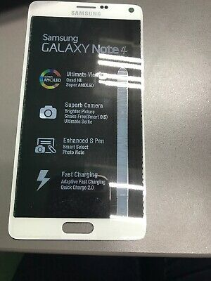 OEM Samsung Galaxy Note 4 LCD + Touch Screen Digitizer WHITE USA SELLER