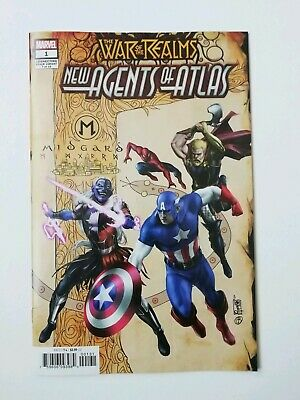 War Of The Realms New Agents Of Atlas #1B Variant - First Print - Marvel Comics