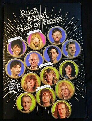 2019 Rock and Roll Hall of Fame program and CD / Radiohead, The Zombies