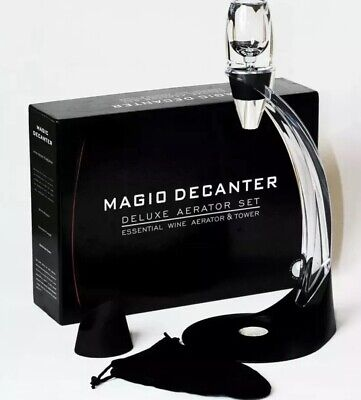 Magic Decanter Deluxe Red Wine Aerator Gift Set Essential Wine Tower Gift