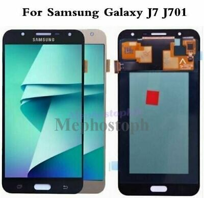 HQ For Samsung Galaxy J7 J701F J701M J701 LCD Screen Touch Digitizer Replacement