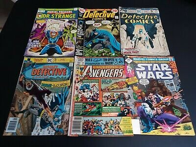 Huge Lot of Marvel & Dc Bronze Age comics Spider-Man Batman Captain America more