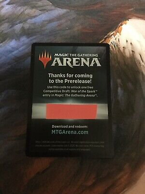 Magic: the Gathering War Of the Spark PreRelease Draft Code Email