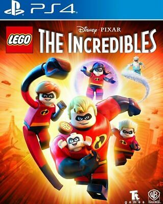 LEGO The Incredibles Disney Pixar's USED SEALED (Sony Playstation 4, 2018) PS4