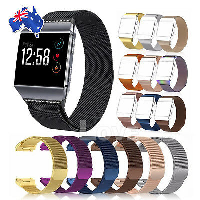 For Fitbit Ionic Smart Watch band Milanese Replacement Wrist Strap Bracelet AU