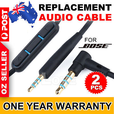 2XCable Remote Mic For Bose QuietComfort 25 35 QC25 QC35 Headphone Android Phone