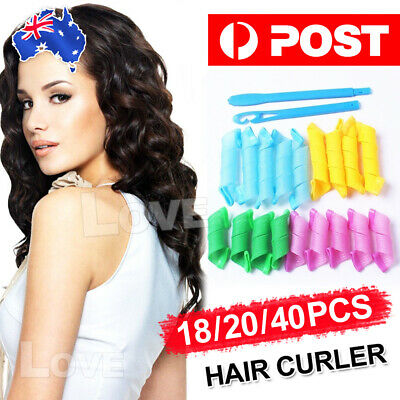 Magic Hair Curler DIY 18/40Pcs Leverage Curlers Curl Formers Spiral Styling Roll