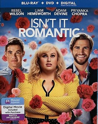 ISN'T IT ROMANTIC ~ Blu-Ray + DVD + Digital *New *Factory Sealed