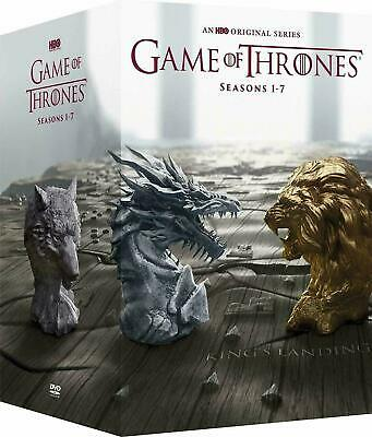 Game Of Thrones Complete Series Seasons 1-7 Dvd,34 Disc Set New)