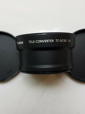 Canon TC-DC58 Tele-Coverter Lens 1.5x Digital Camera Accessory
