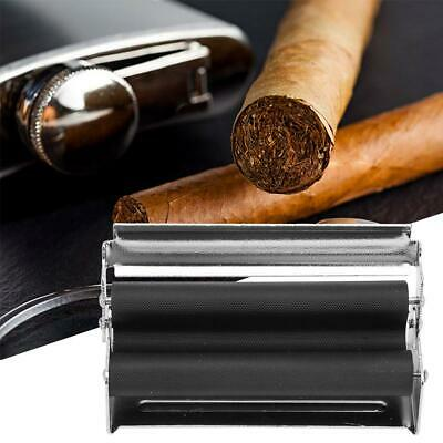 70mm Metal Easy Manual Cigarette Tobacco Smoking Roller Maker Rolling Machine