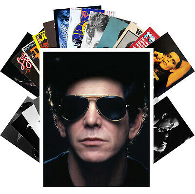 Postcards Pack [24 cards] Lou Reed Rock Music Vintage Posters CC1275