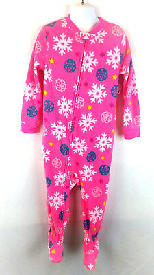 Clothing, Shoes & Accessories Carter's Snowflakes Ice Skates Purple Fleece Blanket Sleeper Girls Size 5t