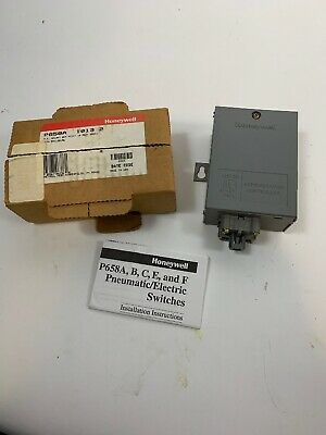 HONEYWELL  P658-A-1013 2 PE Relay  Electric Refrigeration Controller