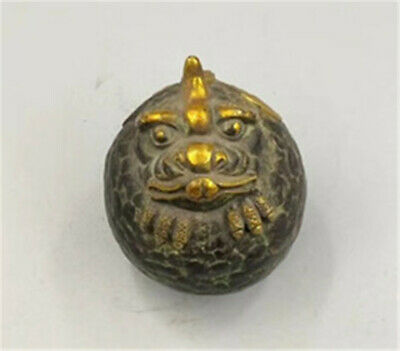 Marked Chinese Bronze Dynasty Dragon Incense Burner Censer