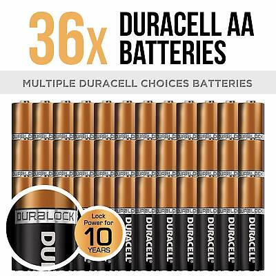 Duracell Coppertop AA Batteries with Duralock Power Preserve 36pc