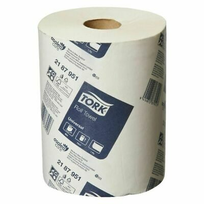 Tork Paper Hand Towels Rolls Towel Roll Bulk Industrial Kitchen White  90m x 16