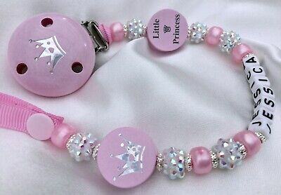 Personalised Girls Dummy Clip