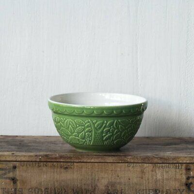 Mason Cash In the Forest mixing bowl, green, hedgehog