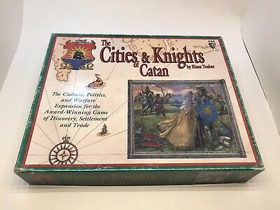 Settlers of Catan: Cities and Knights Game Expansion - MISSING PIECES + EXTRAS