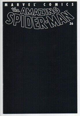 AMAZING SPIDER-MAN Vol. 2 #36 NM- 9.2 9/11 Towers Tribute Black Cover