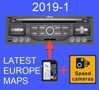 Latest 2019-1 Citroen Peugeot Sd Card Gps Navi  Update Rneg Europe Wipnav/Myway