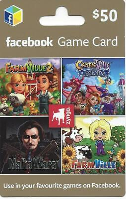 $50 Facebook Games Gift Card