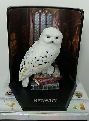 Harry Potter Magical Creatures Mystery Cube Box HEDWIG Owl The Noble Collection